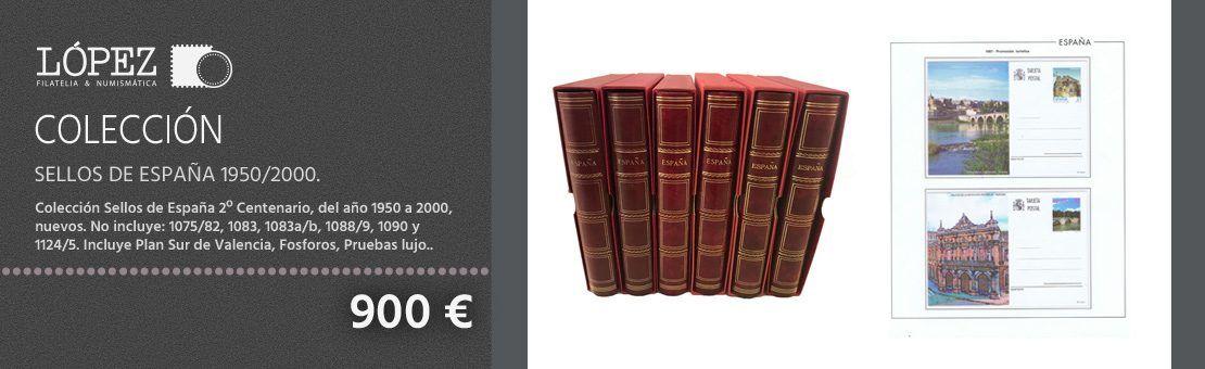 Oferta Colección Sellos de España 1950/2000